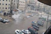 ساحة بحي سكني في حلب تتحول لمدينة صناعية