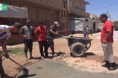 إطلاق مشروع لترميم وتأهيل طرقات بلدة الكرك شرق درعا