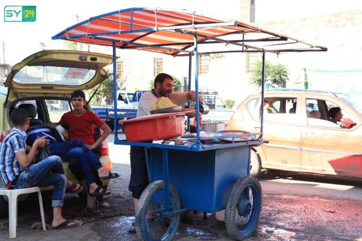 الأجواء الرمضانية في مدينة نوى بريف درعا