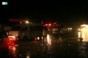 وصول الدفعة الثالثة من مهجّري ريف حمص إلى الشمال بظروف إنسانية صعبة