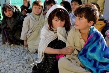 نصف أطفال العالم مهدد بحروب وفقر