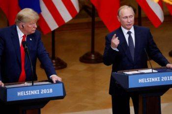 الرئيس الأمريكي دونالد ترامب، ونظيره الروسي، فلاديمير بوتين
