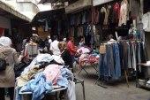 """النظام يتراجع عن قرار منع تداول ألبسة """"البالة"""" في سوريا"""