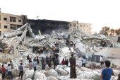 عشرات القتلى والجرحى بانفجار مجهول شمال إدلب