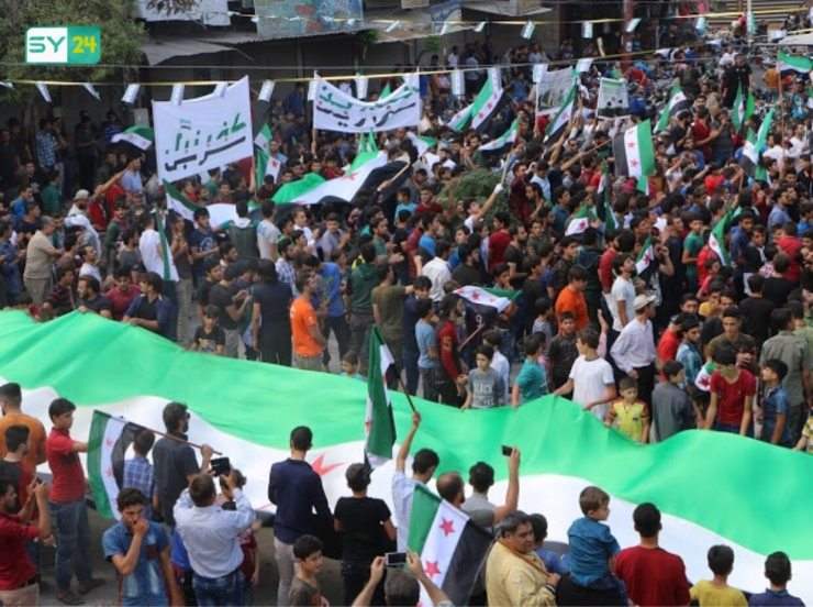 كفرنبل.. جمعة #نظام_الأسد_مصدر_الإرهاب
