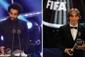 محمد صلاح يحصد جائزة أفضل هدف ومودريتش أفضل لاعب هذا العام