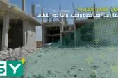 """أطنان """"القنابل التقليدية"""" تنهال على ريفي حماة وإدلب.. والنازحون بالآلاف"""