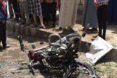 جرحى مدنيون بانفجار دراجة مفخخة وسط مدينة جرابلس