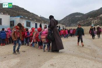 ترميم بعض المدارس يحسّن من الواقع التعليمي في مخيمات اللاذقية