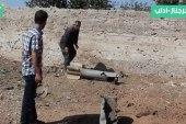 النظام يجدد قصفه الصاروخي على بلدة جرجناز بريف إدلب