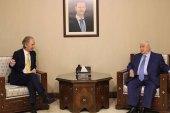 غير بيدرسون يلتقي المعلم في دمشق لاستكمال المشاورات بشأن اللجنة الدستورية