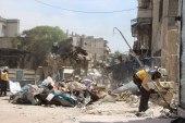 مقتل طفل وإصابة مدنيين بغارات جوية على إدلب