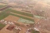 صورة تظهر حجم القصف الروسي الذي تتعرض له مدن وبلدات ريف حماة