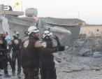 مقتل سيدتين وإصابة عدد من المدنيين جراء غارات جوية استهدفت الأحياء السكنية في بلدة حاس بريف إدلب