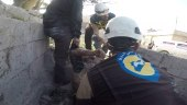 ضربات مزدوجة.. طائرة روسية ترتكب مجزرة بحق المدنيين في إدلب