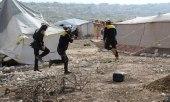 """رايتس ووتش تتهم روسيا بارتكاب جريمة حرب في مخيم """"حاس"""" بإدلب"""