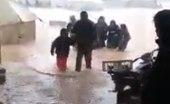 لقطات مرعبة وقاسية.. ناشطون يحذرون من كارثة تهدد النازحين شمال سوريا