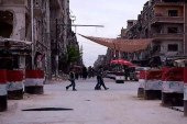بالتزامن مع كتابة عبارات مناهضة للنظام.. هجوم يستهدف حاجز للمخابرات في ريف دمشق