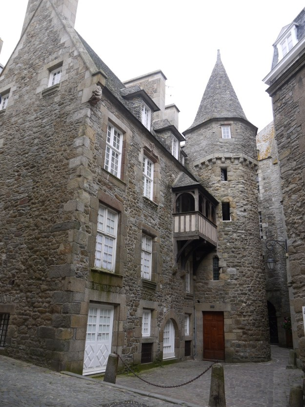 Historisch pand in St-Malo