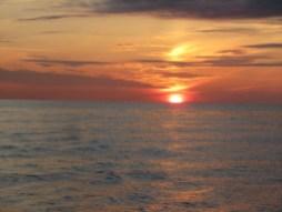 Sonnenaufgang vor Den Helder