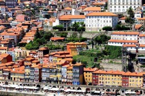Porto von der Eiffelbrücke aus aufgenommen
