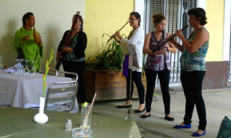 Damen-Quintett