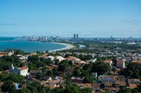 Blick auf Recife