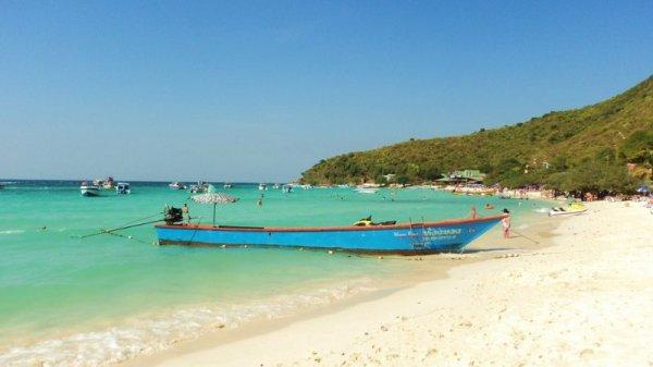 Pantai Tien, Pulau Koh larn