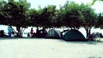 Tempat Berkemah di Pulau Pari