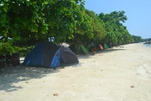 Tempat Berkemah di Pulau Pari 3