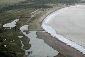 Pantai Palangpang dari Puncak Darma