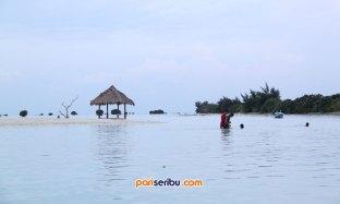 Berenang di Pantai Pasir Perawan