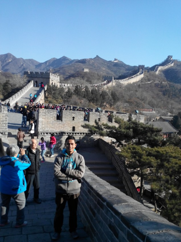 Visiting The Great Wall 3