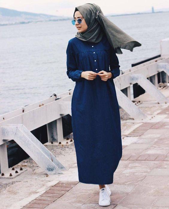 14 Model Baju Muslim Terpopuler Masa Kini Syarimu