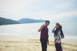 At Batu Ferringhi, Pulau Pinang
