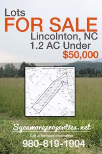 Lots For Sale - Sycamore Properties Inc.