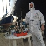 Søren in painting outfit