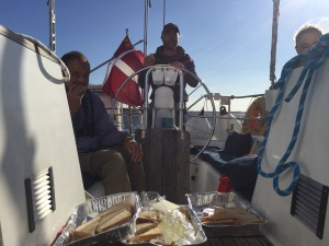 Lunch in the Limfjord