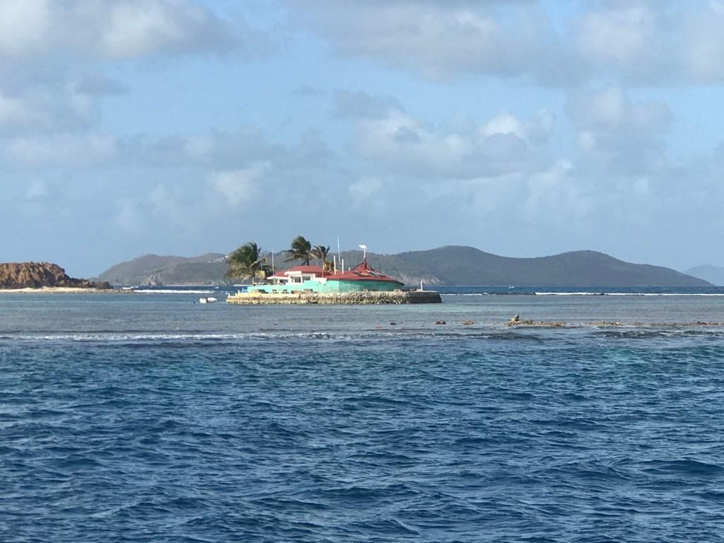 Happy Island fra syd