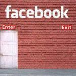 Facebook Enter without Exit