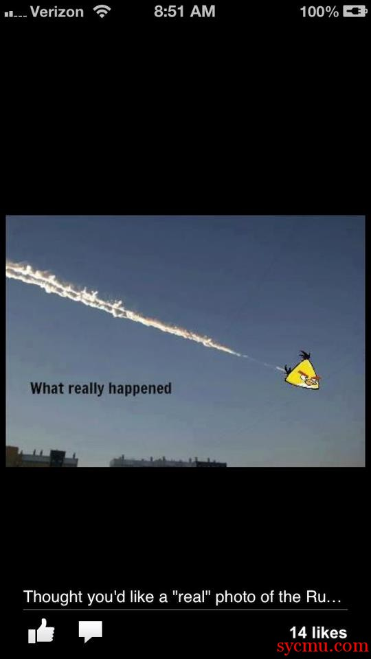 The truth behind the meteors in Russia