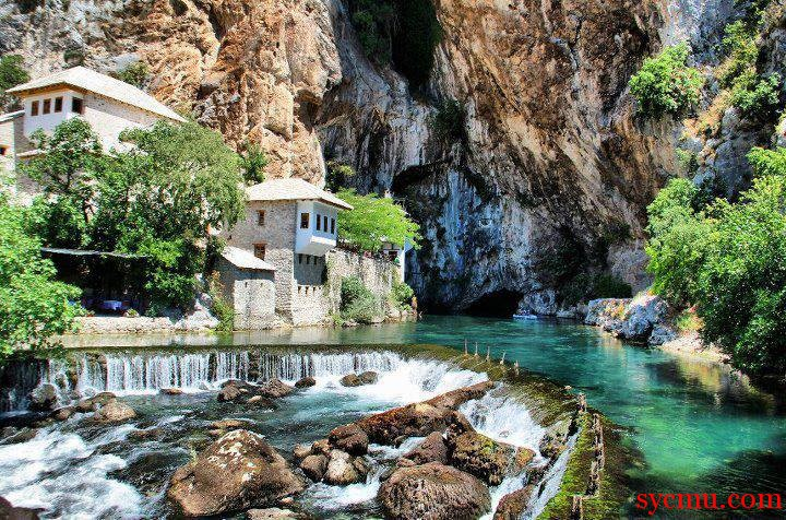 Blagaj Bosnia Herzegovina beautiful