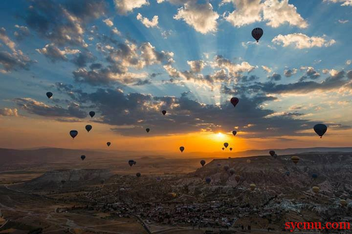 Turkey balloon trips
