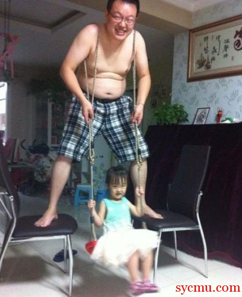 Funny Human Swing Chinese
