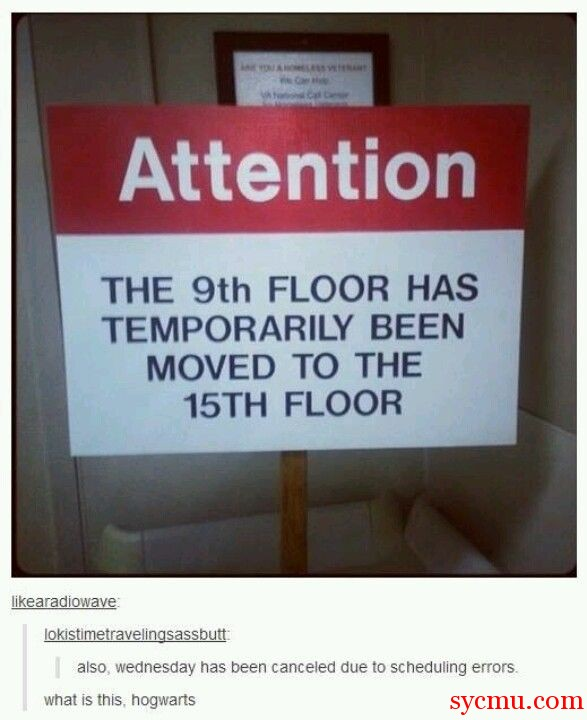 9th floor moved to 15th