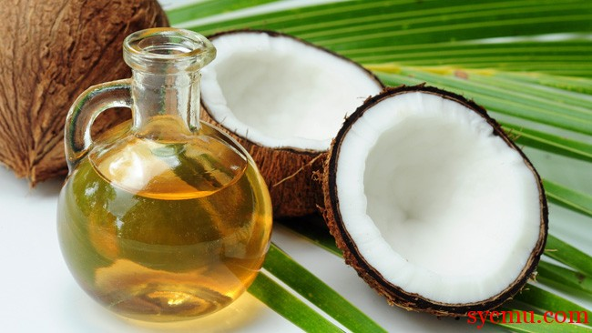 Coconut Leaf and Oil