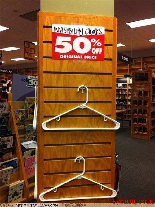 Invisibility Cloak for Sale 50% off