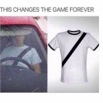 Fake Seatbelt T-shirt