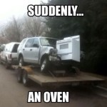 And Suddenly, There Was an Oven