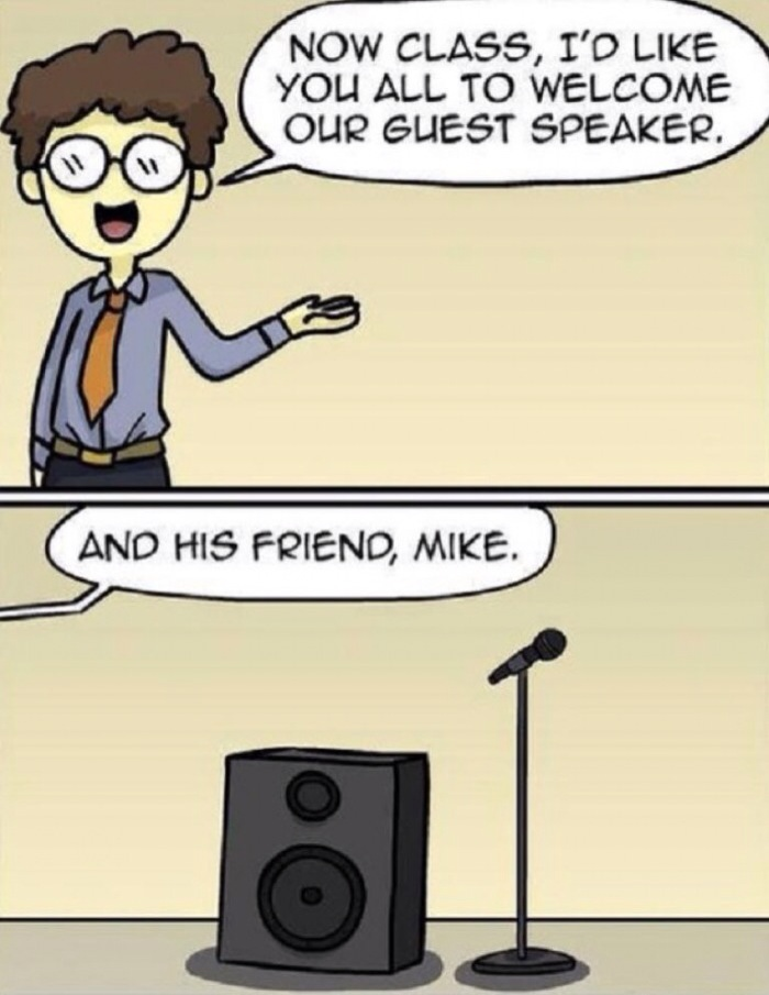 Top 10 Puns Speaker and Mike
